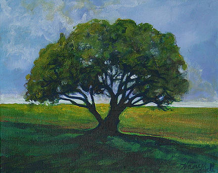 Green Oak by Michele Hollister - for Nancy Asbell