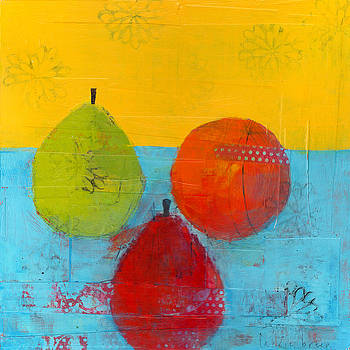 Green Orange Red by Laurie Breen
