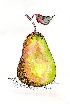 Green Pear by Melody Allen