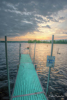 Green Pier by Brian Fisher