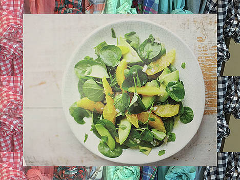 Green Salad Kitchen Chef Cuisine christmas holidays birthday festivals mom dad sister friends by Navin Joshi