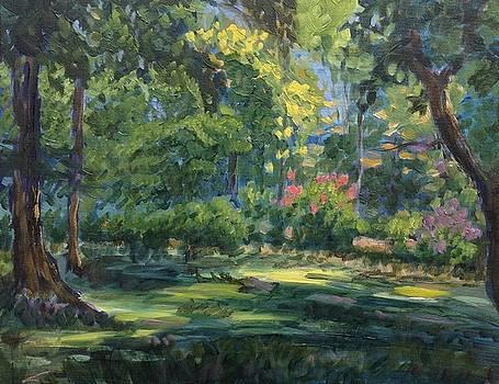Green summer by Elena Sokolova