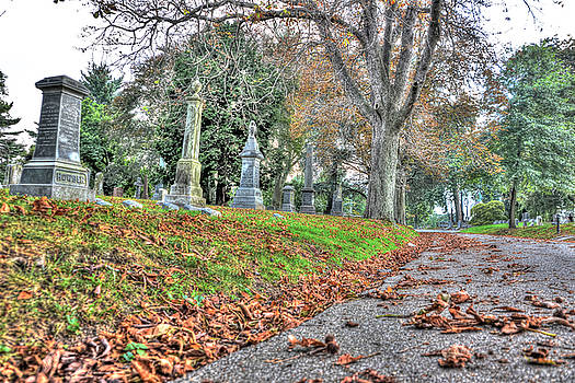 Green-Wood Cemetery 47 by Randy Aveille
