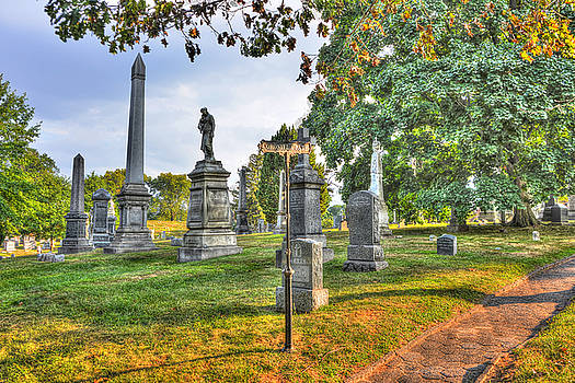 Green-Wood Cemetery 48 by Randy Aveille