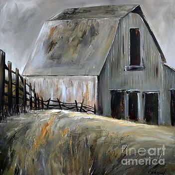 Grey Barn by Cher Devereaux