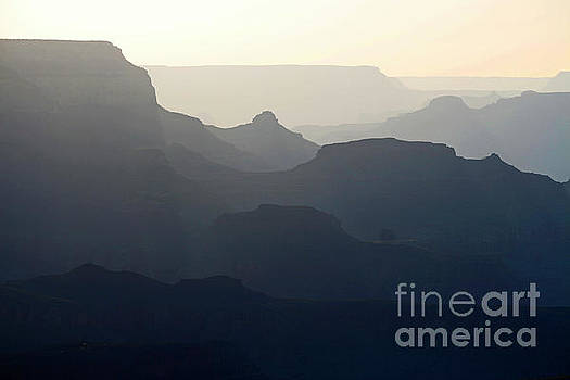 Grey Canyon by Debbie Parker