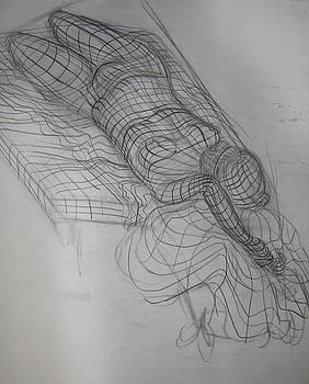 Grid Female Figure by Candace Barnett