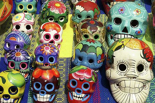 John  Mitchell - Grinning Skulls