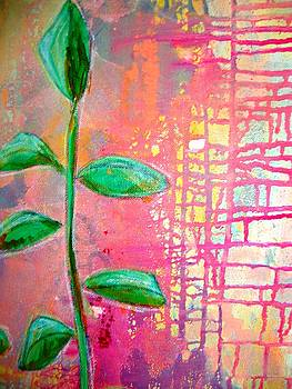Growing Through the Cracks by Shelley Graham Turner