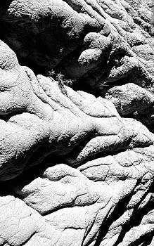 Grumpy Face in the Rock Drumheller by Brian Sereda