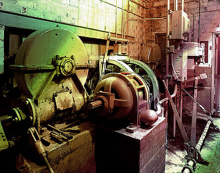 Grunge Hydroelectric Plant by Robert G Kernodle