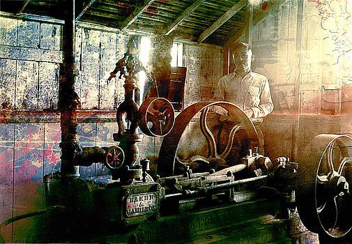 Grunge Meyer Mill by Robert G Kernodle