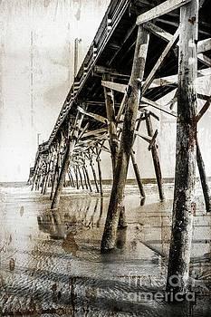 Grunge Pier by Debbie Green
