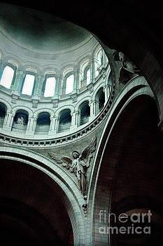 Guardian Angel Basilica du Sacre-Coeur de Montmartre by Lilliana Mendez