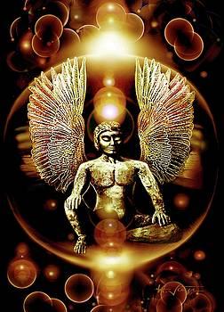 Guardian  Archangel by Hartmut Jager