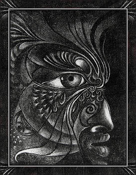 Guardian Cherub by Otto Rapp
