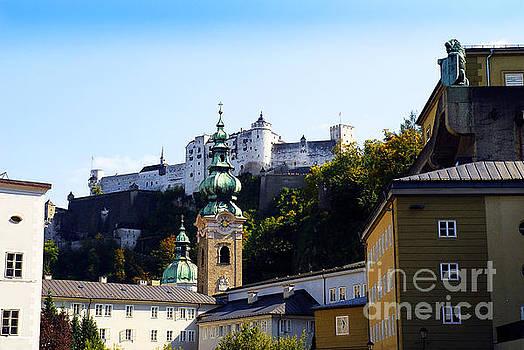 Fortress Guarding Salzburg by Brenda Kean