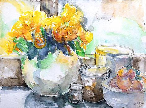 Gudrun's Kitchen Window by Barbara Pommerenke