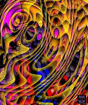 Guitar Abstract by Visual Artist Frank Bonilla