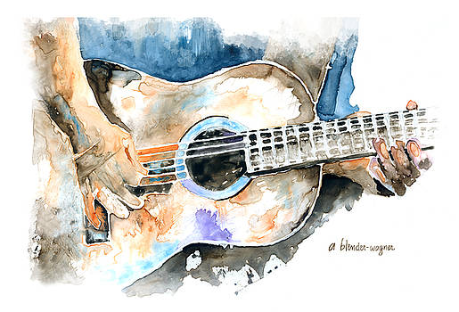 Guitar Riffs... by Arline Wagner