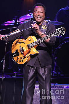 Guitarist George Benson by Front Row Photographs