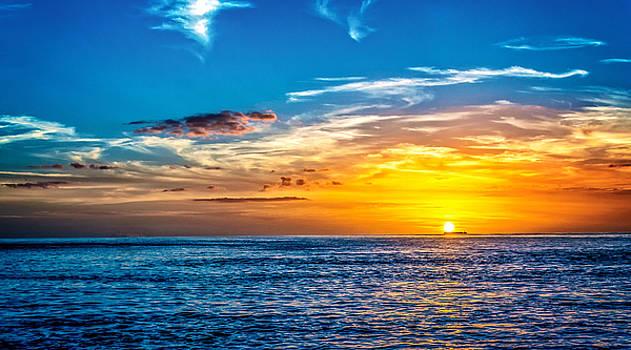 Gulf Sunset by Phillip Burrow