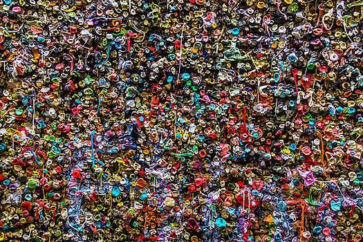 Gum Wall by Garry Gay
