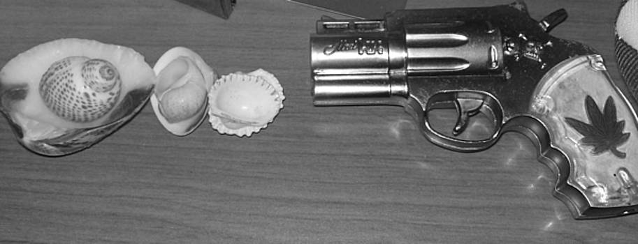 Gun and Shells and Such by Pharris Art