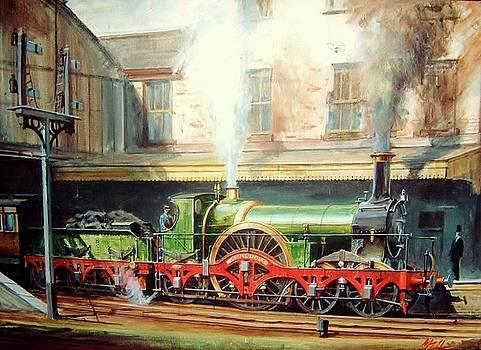 GWR broad gauge single. by Mike Jeffries