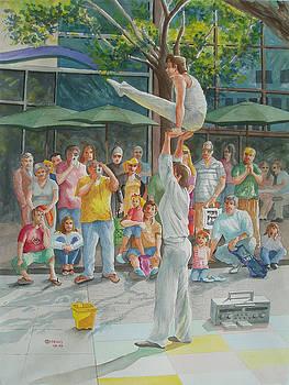 Gymnast by Charles Hetenyi