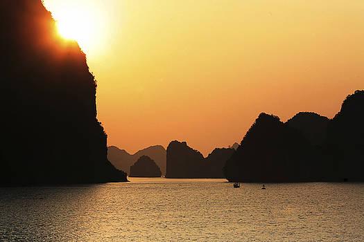 Chuck Kuhn - Ha Long Bay Sunset IV