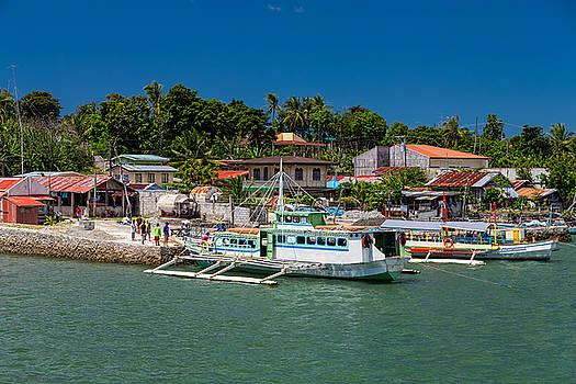 Hagnaya's Port and Fishing Village by James BO Insogna