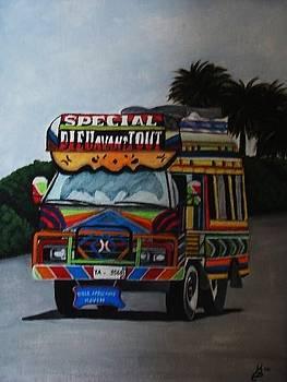 Haitian Bus TapTap by Kim Selig