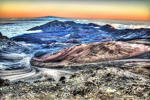 Haleakala Crater Sunset Maui by Shawn Everhart