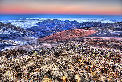 Haleakala Crater Sunset Maui II by Shawn Everhart