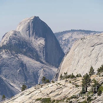 Wingsdomain Art and Photography - Half Dome and Yosemite Valley From Olmsted Point Tioga Pass Yosemite California dsc04246sq