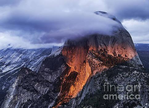 Half Dome Volcano by Steve Rowland