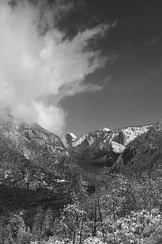 Half Dome Winter by Travis Day
