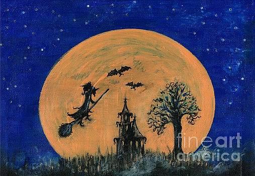 Halloween Night  by Teresa White
