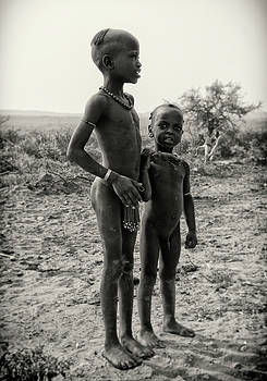 Hamar Tribal Children by Nichon Thorstrom