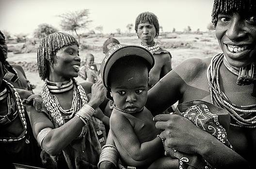 Hamar Women of Omo Valley by Nichon Thorstrom