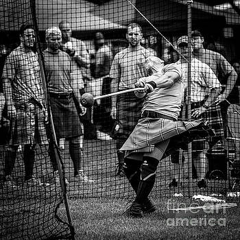 Hammer Throw - Scottish Festival and Highland Games by Gary Whitton