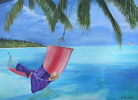 Hammock in Paradise by Sheila Gunter