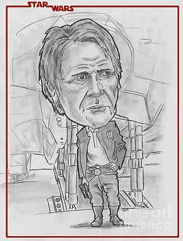 Han SoloThe Force Awakens by Chris DelVecchio