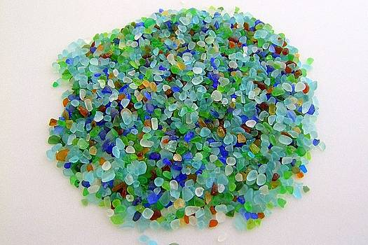 Mary Deal - Handful of Sea Glass