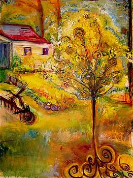 Hannah's Magical Wish Granting Tree by Helena Bebirian