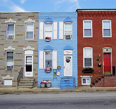 Hanover Street - S Baltimore by Brian Wallace