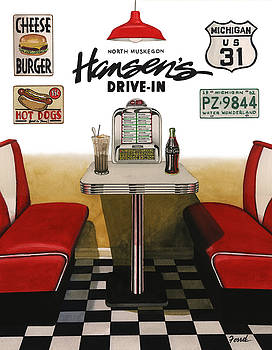 Hansen's Drive-In by Ferrel Cordle