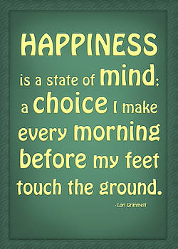 Happiness is a State of Mind by Lori Grimmett