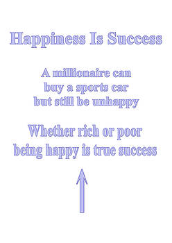Happiness Is Success by I Attract Good